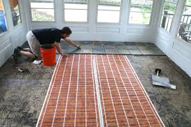 concrete porch floor stamped stained wide option for sun porch