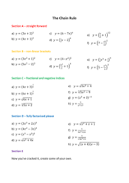 chain rule worksheets by phildb teaching resources tes