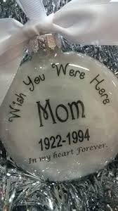in memory of parents memorial ornament feather from an