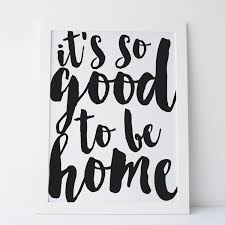 printable art it u0027s so good to be home print