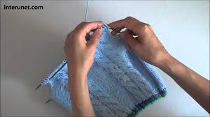 how to knit a sweater for baby or toddler tutorial with