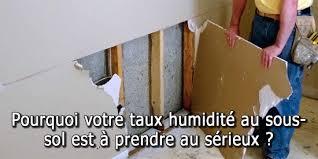 enlever humidité chambre pourquoi votre taux d humidité au sous sol est à prendre au sérieux