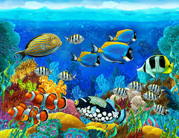 underwater fish wallpaper wallpapers pinterest fish pretty ocean world 1383 wallpaper decal dercor home kids nursery mural home