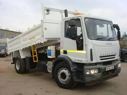 iveco eurocargo dropside tipper is laurie dealer u0027s used truck of