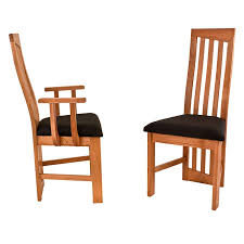 Cherry Dining Chair Modern High Back Dining Chairs Cherry Handmade In