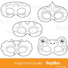 printable lizard mask template reptile printable coloring masks lizard mask turtle