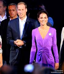 kate u0027s in purple issa dress for canada day evening celebrations