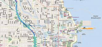 New Orleans Downtown Map by Map Of Chicago Interactive And Printable Maps Wheretraveler