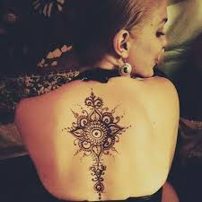 Tattoo Ideas For The Back Of Your Neck 90 Stunning Henna Tattoo Designs To Feed Your Temporary Tattoo Fix