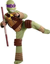 Michelangelo Halloween Costume Amazon Teenage Mutant Ninja Turtles Deluxe Michelangelo