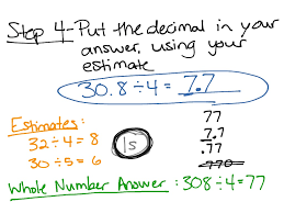 Division With Decimals Worksheets Showme Partial Quotient Division With Decimals