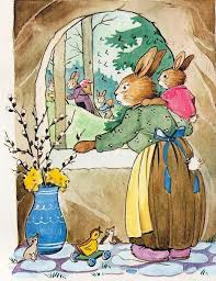 the story of the easter bunny 300 best easter ö pasen images on vintage
