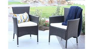 2 pack rattan chairs with cushions 99 shipped southern savers