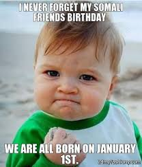 Birthday Memes For Facebook - january birthday meme images 2016 2017 b2b fashion