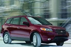 2012 hyundai santa fe recalls 2007 2012 hyundai santa fe used car review autotrader