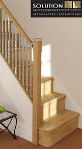 Newel Post To Handrail Fixing Midland Stairparts Stair Spindles Newel Posts Handrails