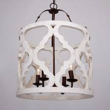 farmhouse lighting home depot lighting farmhouse white moroccan wood and bronze 4 light