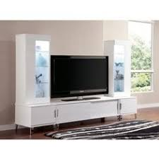 T V Stands With Cabinet Doors Luxury Modern Tv Stand Cabinet Unit White Gloss Led Lighting