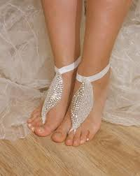 wedding barefoot sandals 281 best barefoot sandals images on jewelry