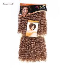 bohemian hair weave for black women 10 noble golden beauty short jerry bohemian curl synthetic hair