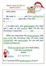 how to write a letter santa letter idea 2018