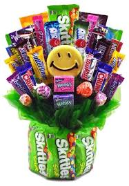 candy arrangements skittles grins candy bouquet candy bouquet students and free