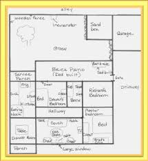 Blue Print Of A House Draw Pictures To Retrieve Memories And Generate Story Ideas