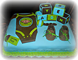 green and brown baby shower theme for this baby shower because