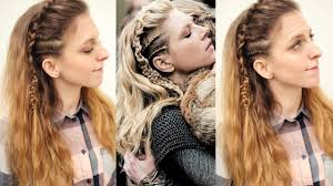 lagertha lothbrok hair braided vikings inspired lagertha hair tutorial viking hairstyles
