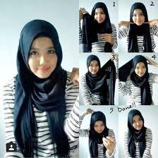 tutorial hijab pashmina tanpa dalaman ninja naughtyvix hijab casual