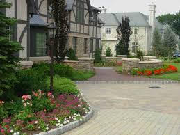 modern landscape ideas for front yard without grass exterior
