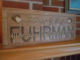 personalized wooden gifts 17 best 3d wooden wedding signs images on birthday