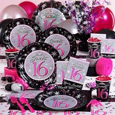 sweet 16 party supplies gorgeous sweet 16 party decorations party decorations