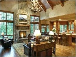 Western Living Room Ideas Updating Ranch Style Homes Interior Western Living Room Decorating