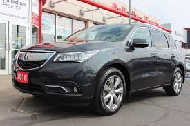 acura minivan pre owned 2016 acura mdx elite pkg affordable style and luxury