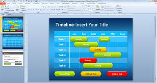 free simple timeline template for powerpoint free powerpoint