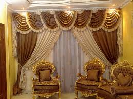 Curtains For Themed Room Valance Curtains For Living Room Gold Themed Hanging Scarf