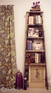 Diy Ladder Shelf Shelves Tutorials by 11 Ways To Repurpose And Decorate With Ladders Bedside Storage
