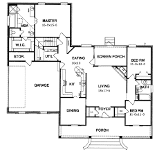ranch style house plan 3 beds 2 00 baths 1775 sq ft plan 15 141