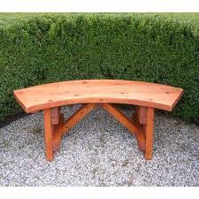 Wooden Bench Design Bench Red Cedar Traditional Backless From Dutchcrafters For