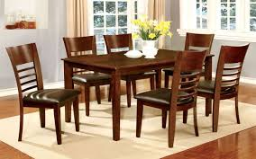 furniture of america brown cherry hillsview i dining room table