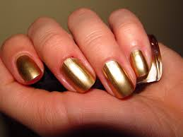 maybelline color nail review bold gold 70 my box