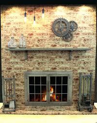 fireplace glass doors open or closed images doors design ideas