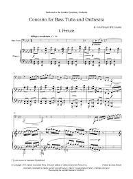 concerto for tuba tuba with piano j w pepper sheet