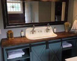bathroom vanity makeover ideas refurbished bathroom vanity etsy onsingularity com
