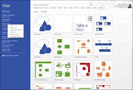 Visio Floor Plan Tutorial by Working With Basic Diagrams In Microsoft Visio 2013 Making