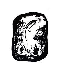 papercut silhouette