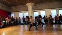 tutorial dance trap queen beyonce 7 11 dance tutorial mattsteffanina choreography how to