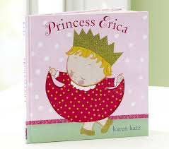 princess baby personalized book pottery barn