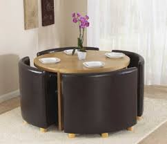 Round Table With Tuck In Chairs Home Furniture Pinterest Dining